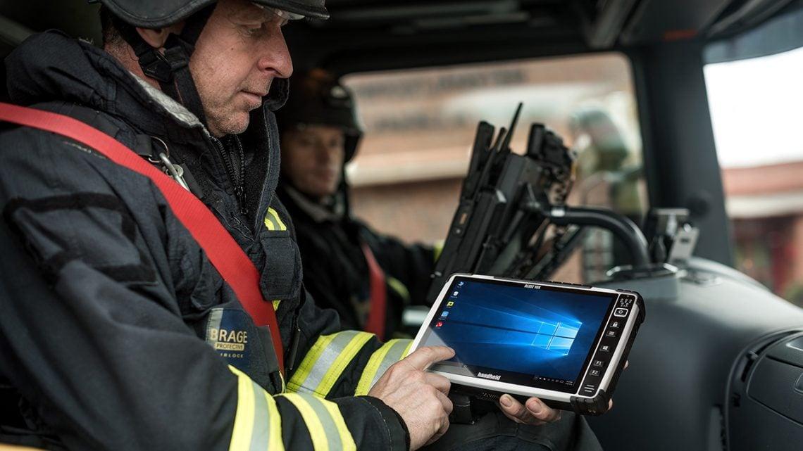Algiz 10X Fire Department Usage