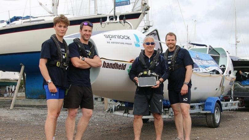 Atlantic Rowing team