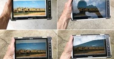 Algiz 10X sunlight readable display
