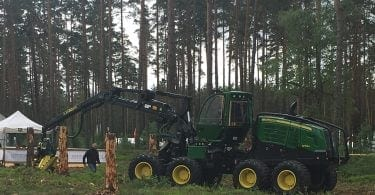 John Deere at Elmia Wood 2017