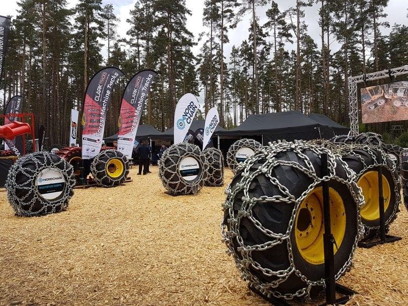 Elmia Wood 2017 - BIG Wheels