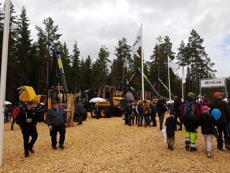 Elmia Wood 2017 - EcoLog Lineup