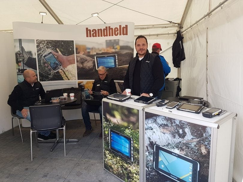 Elmia Wood 2017 - Handheld Rugged Computers