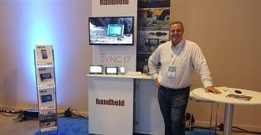 handheld showcase area
