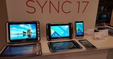 Handheld devices at Soti Sync