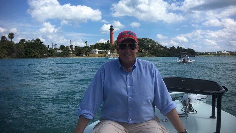 Jerker on the boat