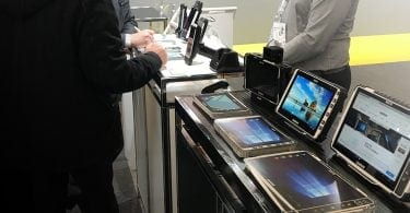 Handheld devices at SITL