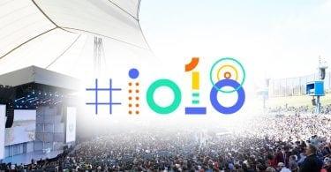 Google I/O event header