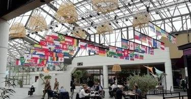 Eurosatory lounge area