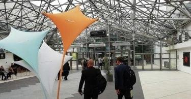 Eurosatory exhibition hall