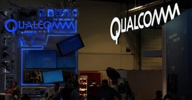 Qualcomm at an exhibition