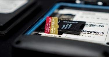 Rugged PDA SD card