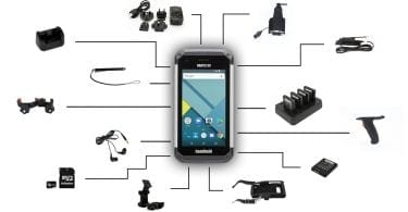 Nautiz X9 with Rugged Accessories