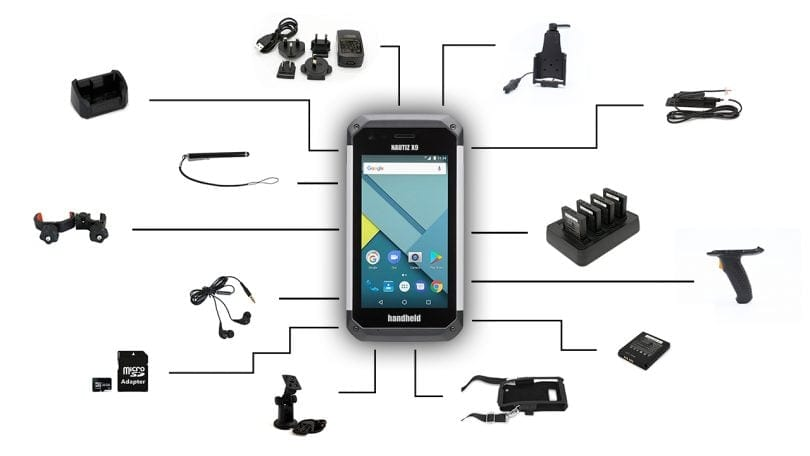 Nautiz X9 with Rugged Accessories