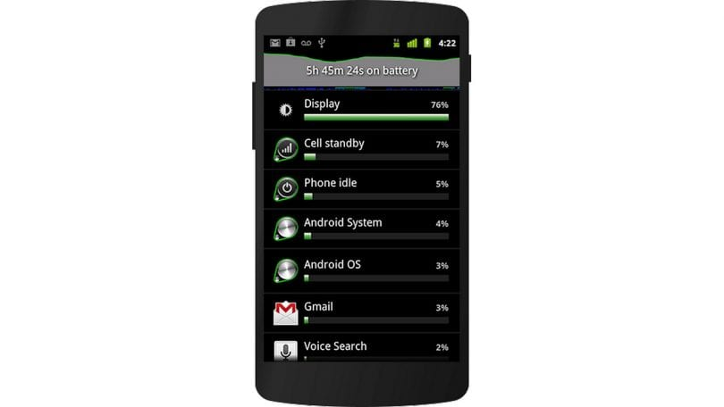 Android 2.3 Gingerbread screenshot