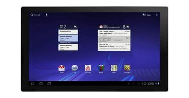Android 3.0 Honeycomb screenshot