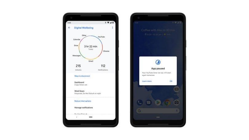 Android 9 Pie screenshot