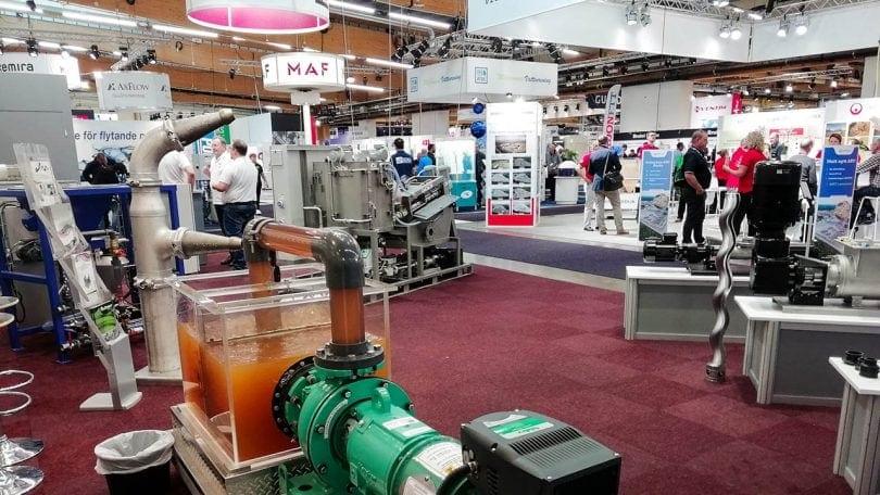 Elmia Waste & Recycling exhibition hall