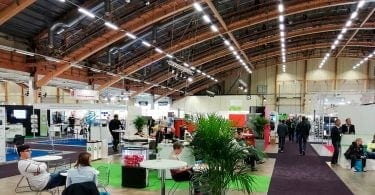 Elmia Waste & Recycling exhibition hall