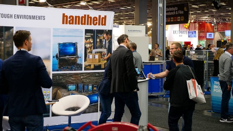 Handheld Group's booth