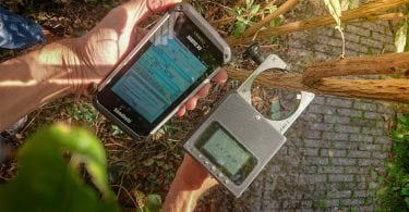 rugged pda data collection tree nursery