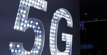 5g technology logo from mobile world congress 2019