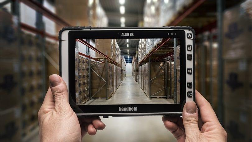 handheld algiz 8x in warehouse