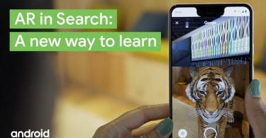 AR in Google search