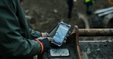 handheld nautiz x6 outdoor