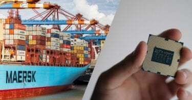 The global supply chain issues caused by shortage of semiconductors and containers