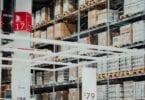 A warehouse for e-commerce logistics
